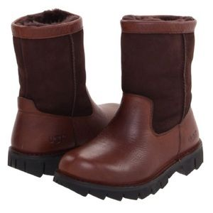 UGG Beacon Obsidian Waterproof Leather Boots